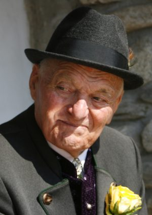 Portrait von Anton Zingerle  –  Ongra-Tondl
